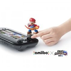 Amiibo is a collection of interactive figures based on Nintendo characters. The figures have the ability to communicate with multiple specially designed games by touching them to the Wii U GamePad controller.