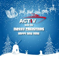 Marry Christmas and Happy New Year from Activ Yachts