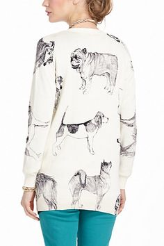 Pooch Cardigan from @Anthropologie | The Barkitect
