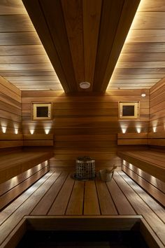 Saunagalleria I SUN SAUNA Oy I Ideoita saunaremonttiin, saunaideat Basement Sauna, Sauna Lights, Sauna Design, Design Design, Interior Design, Natural Swimming Pools, Natural Pools, Pool Landscaping, Backyard Pools