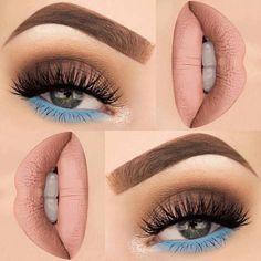 Make up thang Makeup Goals, Makeup Inspo, Makeup Inspiration, Makeup Tips, Beauty Makeup, Hair Makeup, Makeup Hacks, Makeup Ideas, Makeup Eye Looks