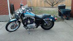 2005 Harley-Davidson SPORTSTER Sportbike , Blue & Grey, 2,700 miles for sale in Louisville, KY