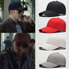 1842390db8b Unisex Men Women Blank Baseball Cap Plain Bboy Snapback Hats Hip-Hop  Adjustable Army Hat