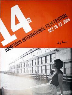 Poster for the 14th Hamptons International Film Festival, October 18-22, 2006: SHERMAN, Cindy