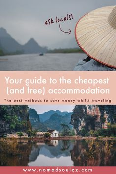 Budget travel tips for the ultimate adventure! Tips and tricks that are going to help you travel further, longer and more in-depth! Read here how you can save money on your accommodation. Travel Money, Budget Travel, Travel Tips, Travel Destinations, Cheap Accommodation, Lots Of Money, Cheap Travel, Travel Abroad, Trip Planning