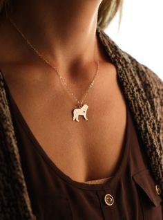 SALE  Bernese Mountain Dog Necklace  Bernese Dog par IvyByDesign