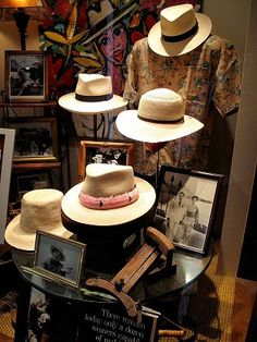 56 Ideas Hat Panama Shops For 2019 Vintage Clothing Display, Hats Tumblr, Hat Display, Hat Stores, Store Interiors, It Goes On, Hat Shop, Outfits With Hats, Well Dressed Men