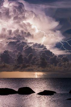 Lightning - Vergi Port by Chris Mil | (Follow on 500px)
