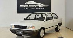 Vw Voyage CL 1995 Branco Geada - Pastore Car Collection