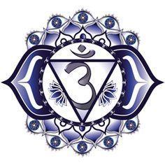 Third Eye Chakra (Ajna) - Chakra - Glimpse of characteristic & different ways to work on balancing Third Eye Chakra for Intuition & Understanding. 6 Chakra, 3rd Eye Chakra, Chakra Art, Chakra Healing, 3rd Eye Tattoo, Eye Tattoo Meaning, Tattoos With Meaning, Chakras Reiki, Les Chakras