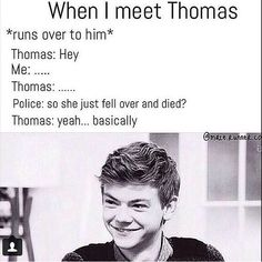 Basically^ LOL! Only it would be me meeting Dylan