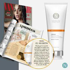 No es ningún secreto que Vanity Fair es fan de la Crema Reafirmante para el Contorno Corporal Nerium. ¡Descubre por qué en la edición de este mes!  www.betyoso.nerium.com