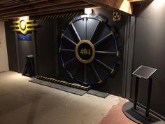 Gaming - Vault Door to Game Room