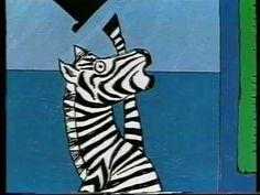 Zebra heeft de hik