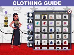 Kim Kardashian: Hollywood Game Clothing Guide