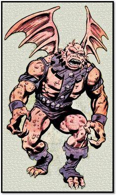 The Gargoyle (Isaac)--The Defenders Comic Book Characters, Marvel Characters, Marvel Movies, Comic Character, Character Design, Marvel Defenders, Marvel Comics Art, Marvel Heroes, Marvel Avengers