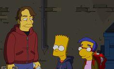 Shepard Fairey goes Simpsons