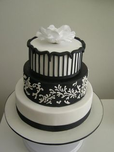 I had the pleasure of making this cake for a lovely couple. It was an Idea created from the invitations.