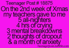 But really...> FOR REAL I am like really stressing out with all of this! I think I have alot of anxiety!!