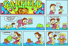 Garfield comic