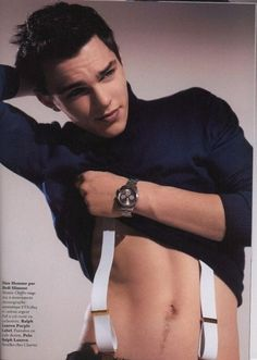Or his happy trail that, in turn, makes me happy. | A Tribute To Every Beautiful Part Of NicholasHoult
