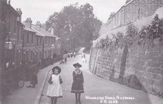Woodside Road (Lower), Rusthall in this undated picture. Old Pictures, Old Photos, Tunbridge Wells, Vintage Images, Beautiful Places, Moon, Vintage Pictures, The Moon, Antique Photos