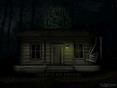 The cabin from Evil Dead