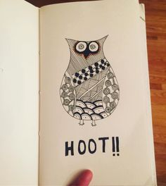 Hoot Hoot..!! It's Friday again!! Have a good weekend everyone  Find our paperback notebooks on our Etsy store! Store link on the profile page.. #journal #journals #paperback #diary #diaries #notebook #notebookaddict #notebooks #drawing #drawingaday #drawingoftheday #drawsomething #draw #drawings #zentangleart #zentangle #zentangles #zenart #doodling #doodle #handdrawn #handmadegifts #handmadeisbetter #supportsmallbusiness #etsystore #aarinshandmade #staycreative #owl