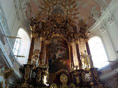 Main altar in the guardian angels' church, Eichstätt