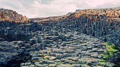 Лавовые плато, Ирландия