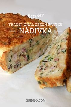 Celebrate Easter in style with our traditional Czech Easter recipe. Prague Travel, Food Tasting, Easter Recipes, Banana, Meals, Dishes, Traditional, Desserts, Style