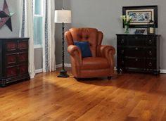 "Casa de Colour Millrun 3/4""x5"" Red Oak & White Oak Quercus Alba 1360 Stained Finish Solid Spice Oak SKU: 10014755"