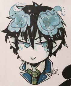 Request for Jasmine Garcia who wanted Me to draw Rin Okumura from blue exorcist (one of my personal favorites)