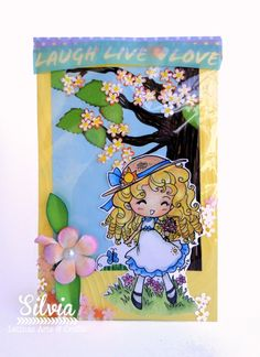 Silvia Scrap: Reto 58 Latinas Arts & Crafts. Shaker Card