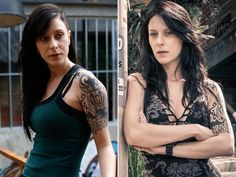 Com personagem durona, a Ximena de I Love Paraisópolis, Caroline Abras aparece transformada ♥