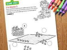Preschool Games, Videos, & Coloring Pages - Sesame Street