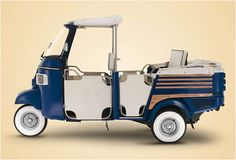 Vespa Piaggio Ape reintroduced to UK market. Scooters Vespa, Vespa Ape, Scooter Motorcycle, Vespa Lambretta, Piaggio Ape, Piaggio Scooter, Microcar, Pedal Cars, Commercial Vehicle