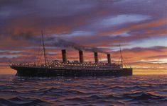 Titanic painting by Ken Marschall