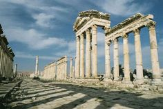 Palmyra. Syria.