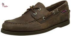 Sebago Docksides, Chaussures Bateau Homme, Marron (Brown Leather), 43.5 EU - Chaussures sebago (*Partner-Link)