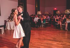 We're loving this newlywed couple dancing the night away at their Bell Tower reception in Nashville.  For more information about their fantastic wedding packages click the image above. Photo credit: Joe Hendrix Photography