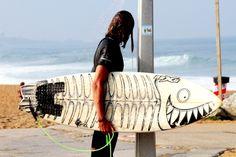 Tablas de surf Pescado!   fish outta water