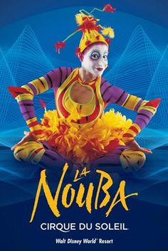 La Nouba is a mesmerizing and extraordinary avant-garde circus spectacle performed by Cirque du Soleil exclusively in Downtown Disney in Florida. My favorite of all the Cirque shows I've seen. Walt Disney World, Disney World Resorts, Disney Vacations, Disney Travel, Disney Trips, Disney Parks, Downtown Disney, Camouflage Art, French Pop Music
