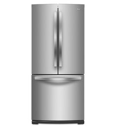Whirlpool® 30-inch Wide French Door Refrigerator with More Usable Capacity - 19.7 cu. ft. Outlet