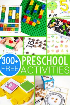 300+ free preschool activities from Life Over C's for learning to start your students on the path to loving learning! Perfect for classrooms, home school, learning at home or anytime! Counting, Alphabet, matching, sorting activities, patterns and much more! Everything you need for an amazing preschool! Childcare Activities, Kindergarten Math Activities, Sorting Activities, Free Preschool, Preschool Printables, Alphabet Activities, Hands On Activities, Preschool Ideas, Literacy