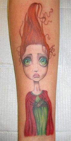 "Angelina Wrona's ""Seedling"" - Still looking for info on tattoo artist"