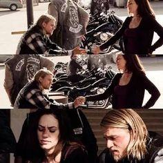 Find images and videos about love, couple and tara on We Heart It - the app to get lost in what you love. Sons Of Anarchy Tara, Sons Of Anachy, Maggie Siff, Charlie Hunnam Soa, Jax Teller, Great Movies, Best Shows Ever, Favorite Tv Shows, I Movie