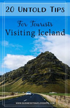 A trip to Iceland could be the adventure of a lifetime but planning it could be overwhelming. Here are 20 untold tips for tourists visiting Iceland. Iceland Travel Tips, Europe Travel Tips, European Travel, Travel Advice, Travel Guides, Places To Travel, Europe Packing, Traveling Europe, Backpacking Europe