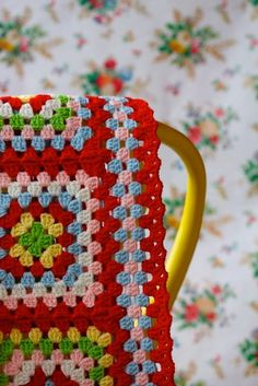 Transcendent Crochet a Solid Granny Square Ideas. Inconceivable Crochet a Solid Granny Square Ideas. Plaid Au Crochet, Beau Crochet, Love Crochet, Beautiful Crochet, Crochet Hooks, Crochet Baby, Crochet Blankets, Point Granny Au Crochet, Grannies Crochet