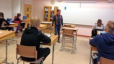 Haaparannan koululaiset enimmäkseen suomenkielisiä.